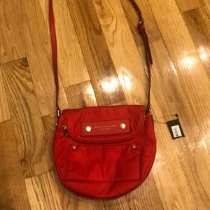 Marc Jacobs Natasha crossbody red nylon